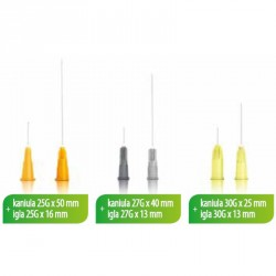 HYALUAL® Cannula small zone kit