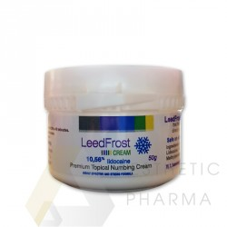 LeedFrost 10,56% | 50g - Topical anesthetic cream