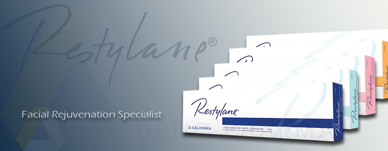 Galderma Restylane Lyft Skinboosters Vital Light Lidocaine Lyps kysse Volyme Refyne Defyne Fynesse