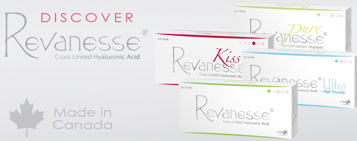 Revanesse, Revanesse ultra, revanesse Kiss, Revanesse Pure